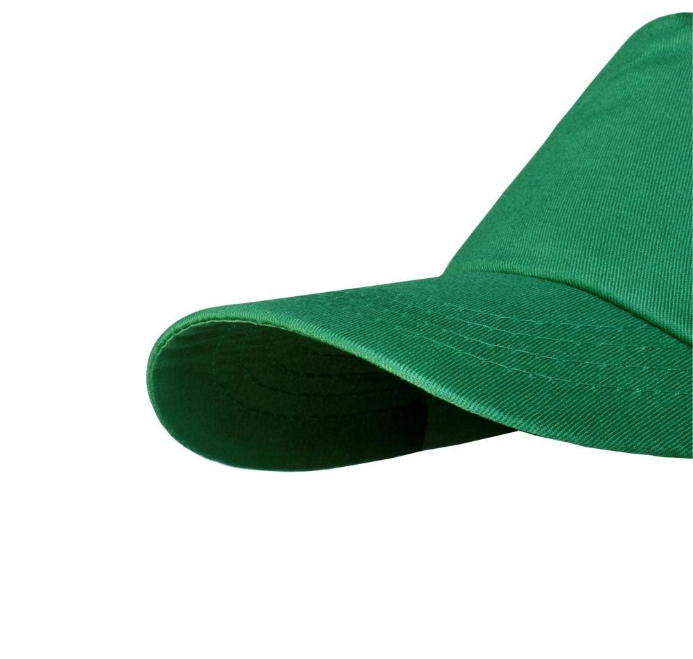 Бейсболка Unit Promo, зеленая_3