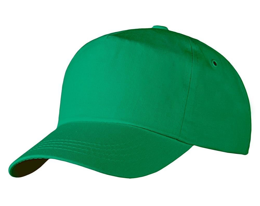 Бейсболка Unit Promo, зеленая_0