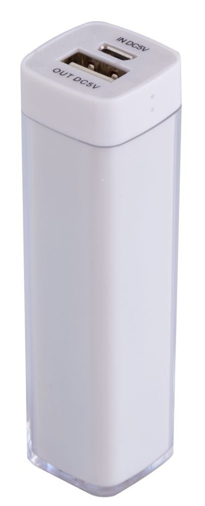 Bнешний аккумулятор Bar, 2200 mAh, ver.2, белый_0